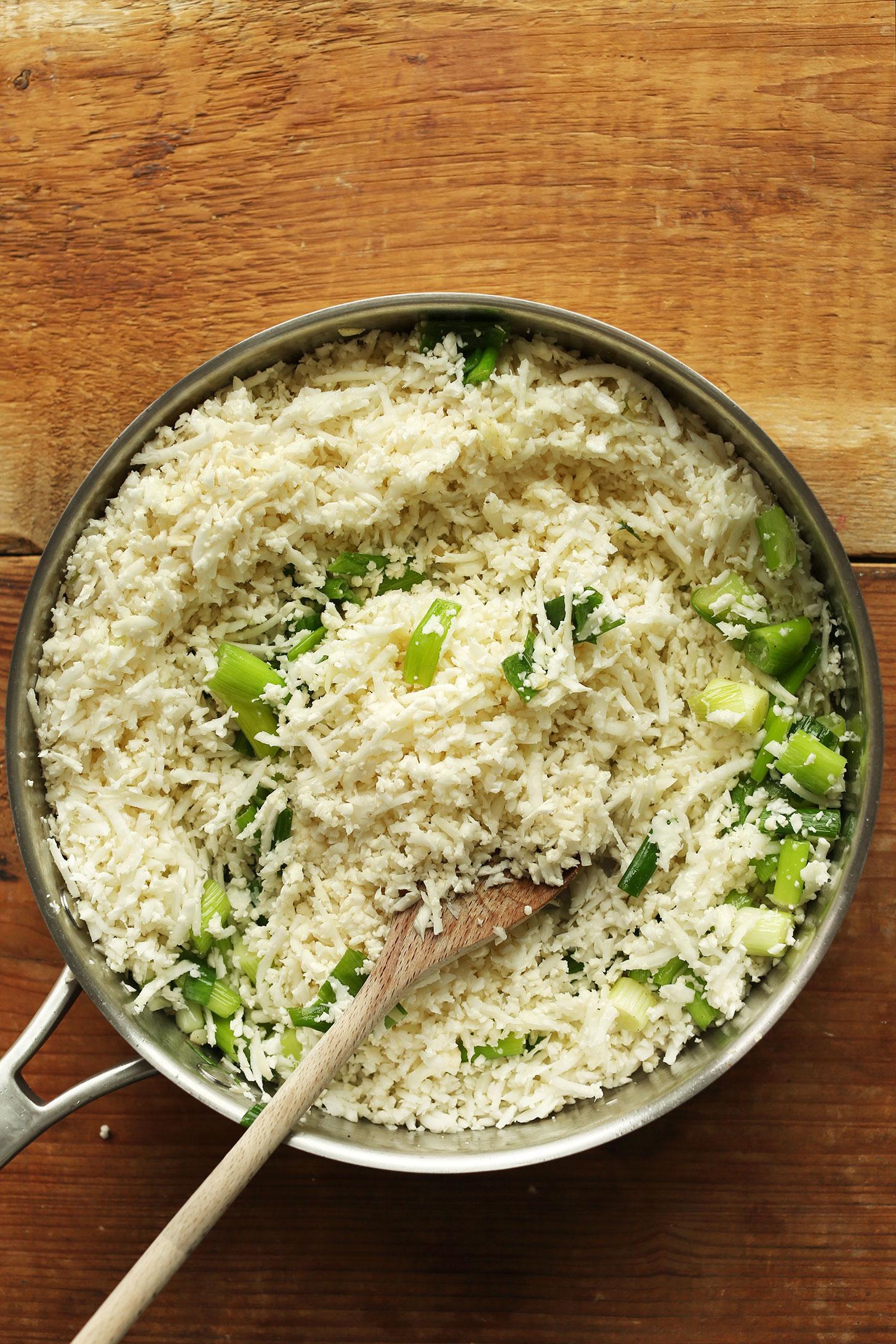 Фаршированные перцы из цветной капусты и риса 2