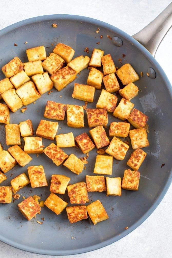 Софрито с тофу и овощами 4