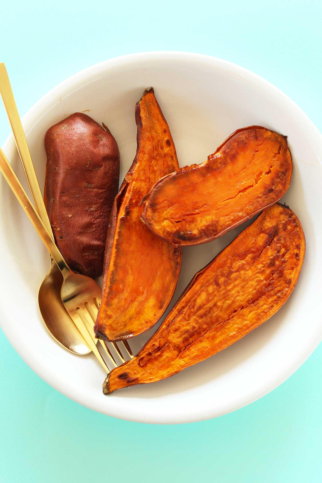 Смузи из батата и банана 2