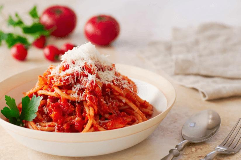 Спагетти Аматричана 9