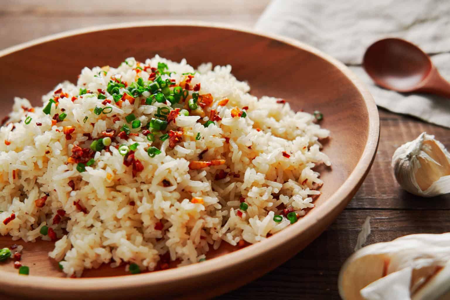 Синангаг: Филиппинский жареный рис с чесноком 1