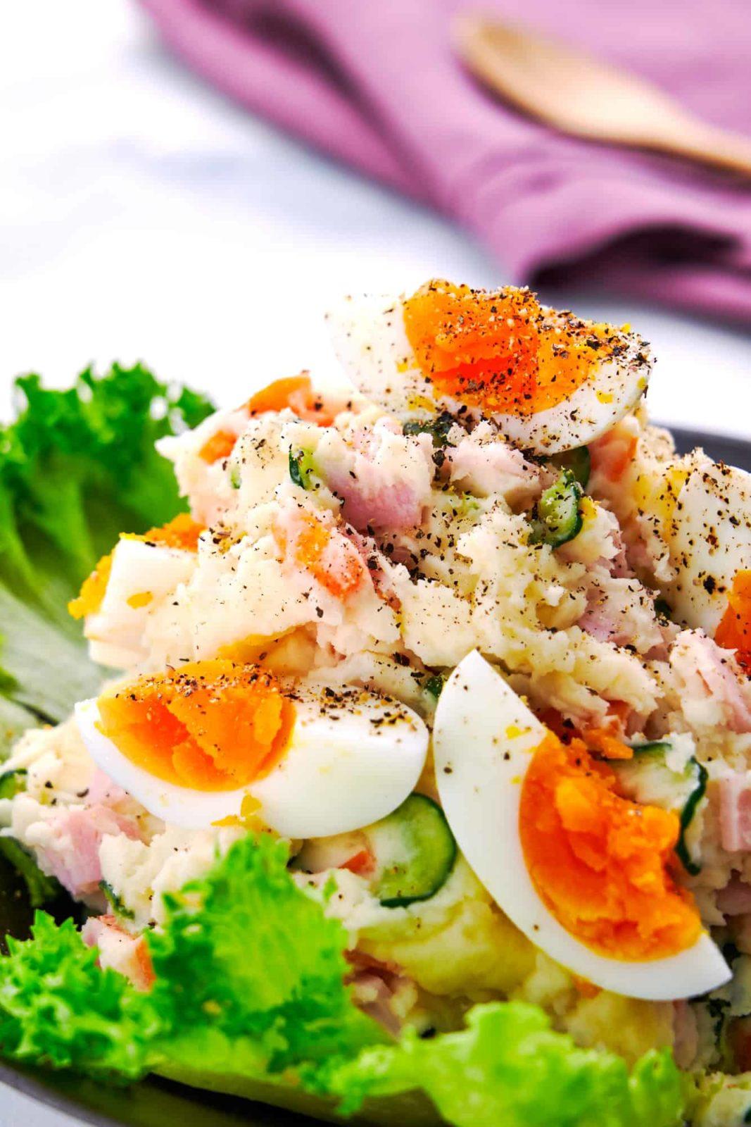 Японский картофельный салат фото 1
