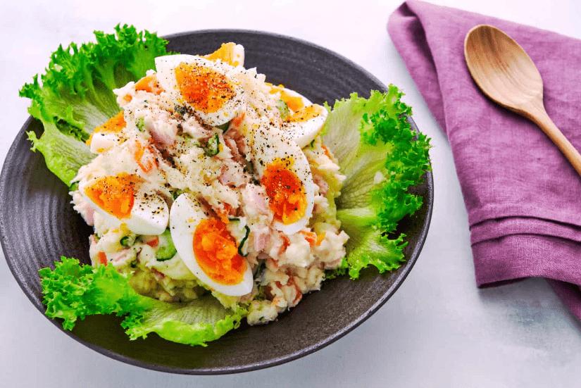 Японский картофельный салат фото 9