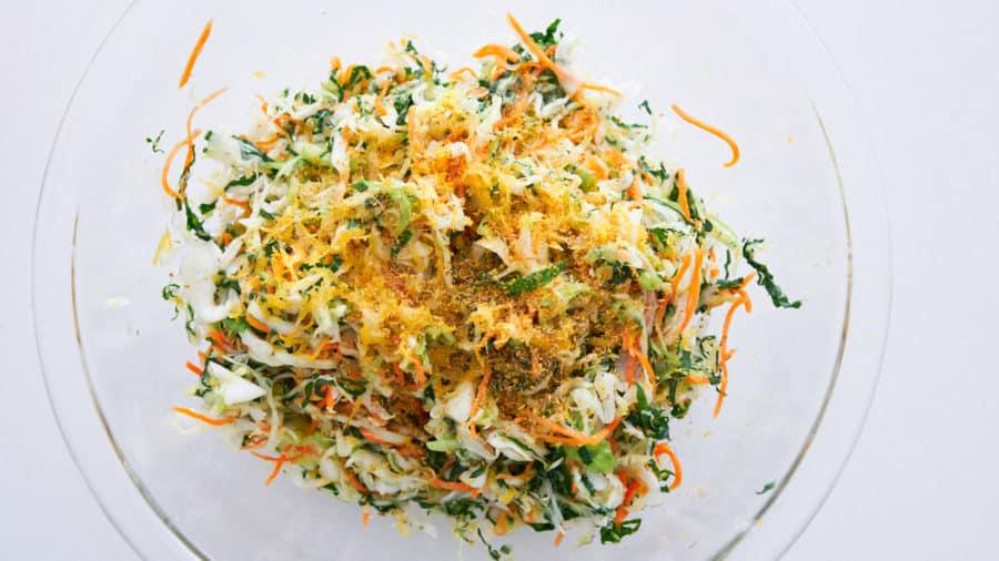 Капустный салат с морковью фото 1