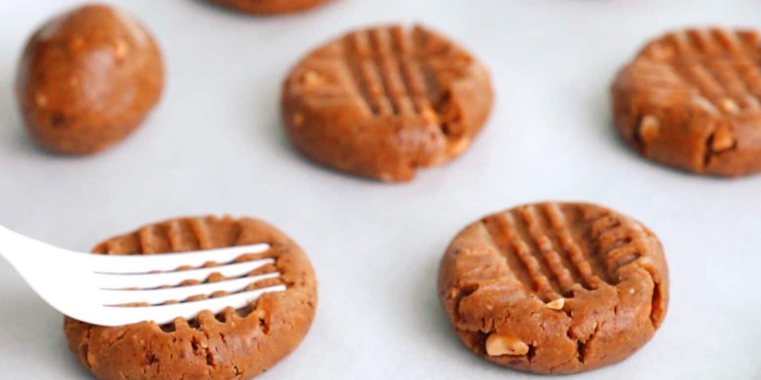Печенье с арахисовым маслом фото 3