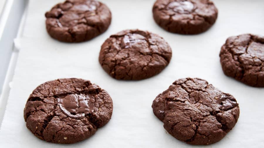 Веганское шоколадное печенье 2