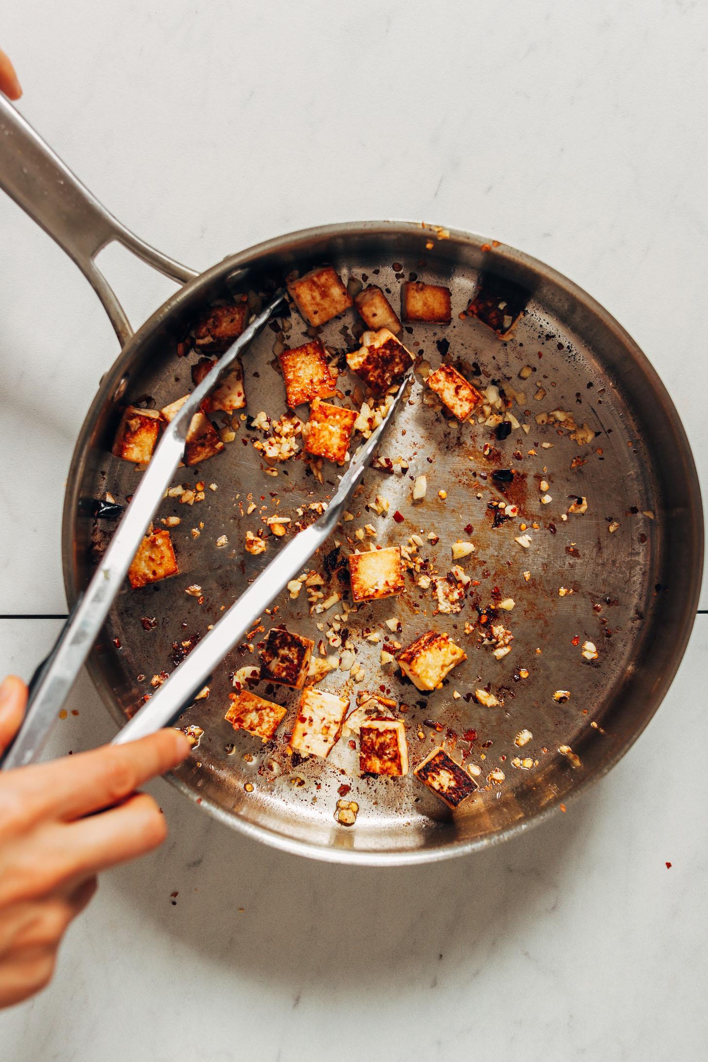 Тофу с овощами по-тайски фото 3