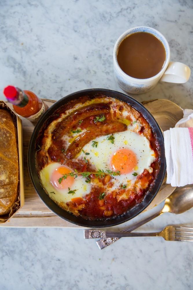 Классический английский завтрак фото 4
