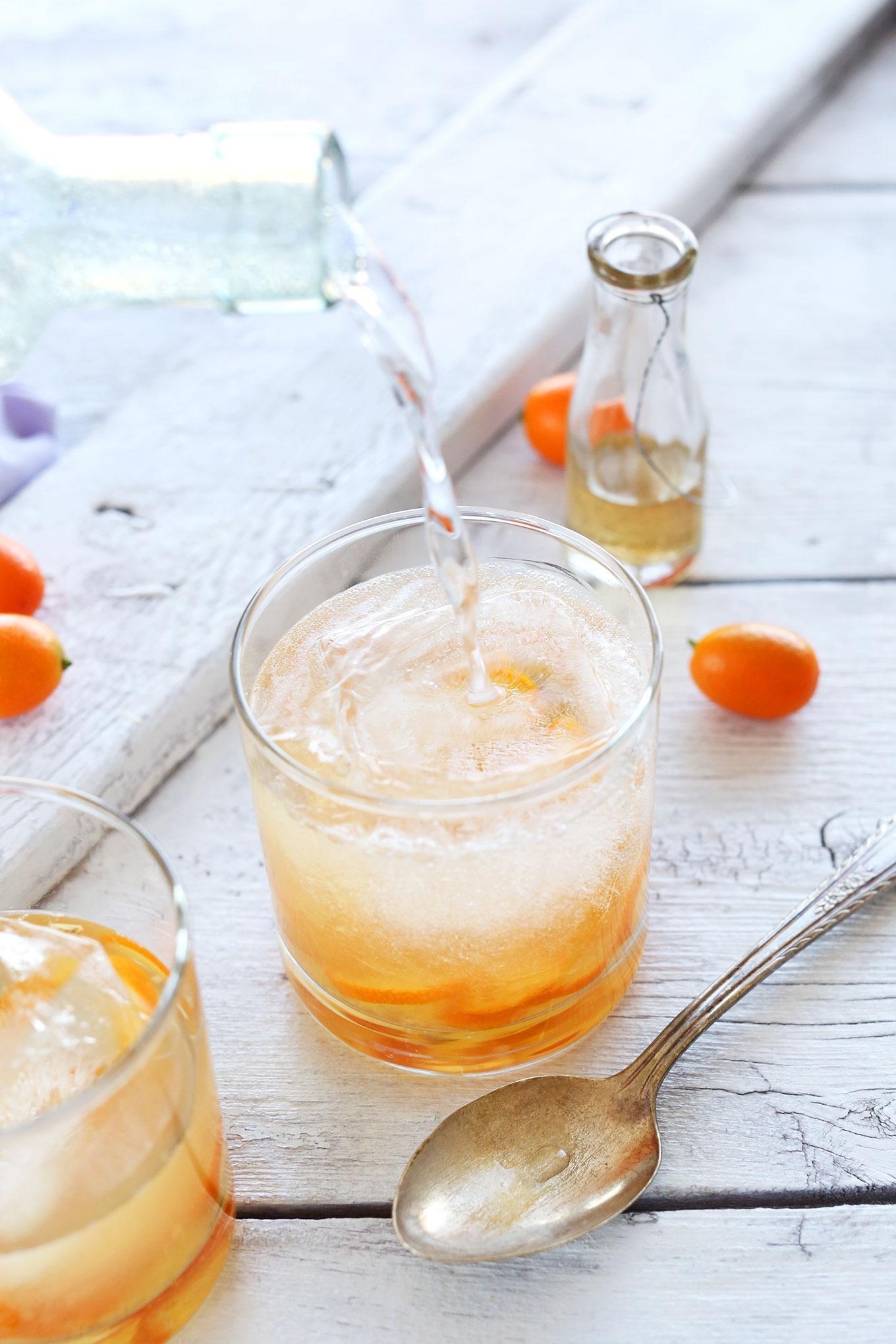 Натуральный джин с тоником с кумкватом фото 3