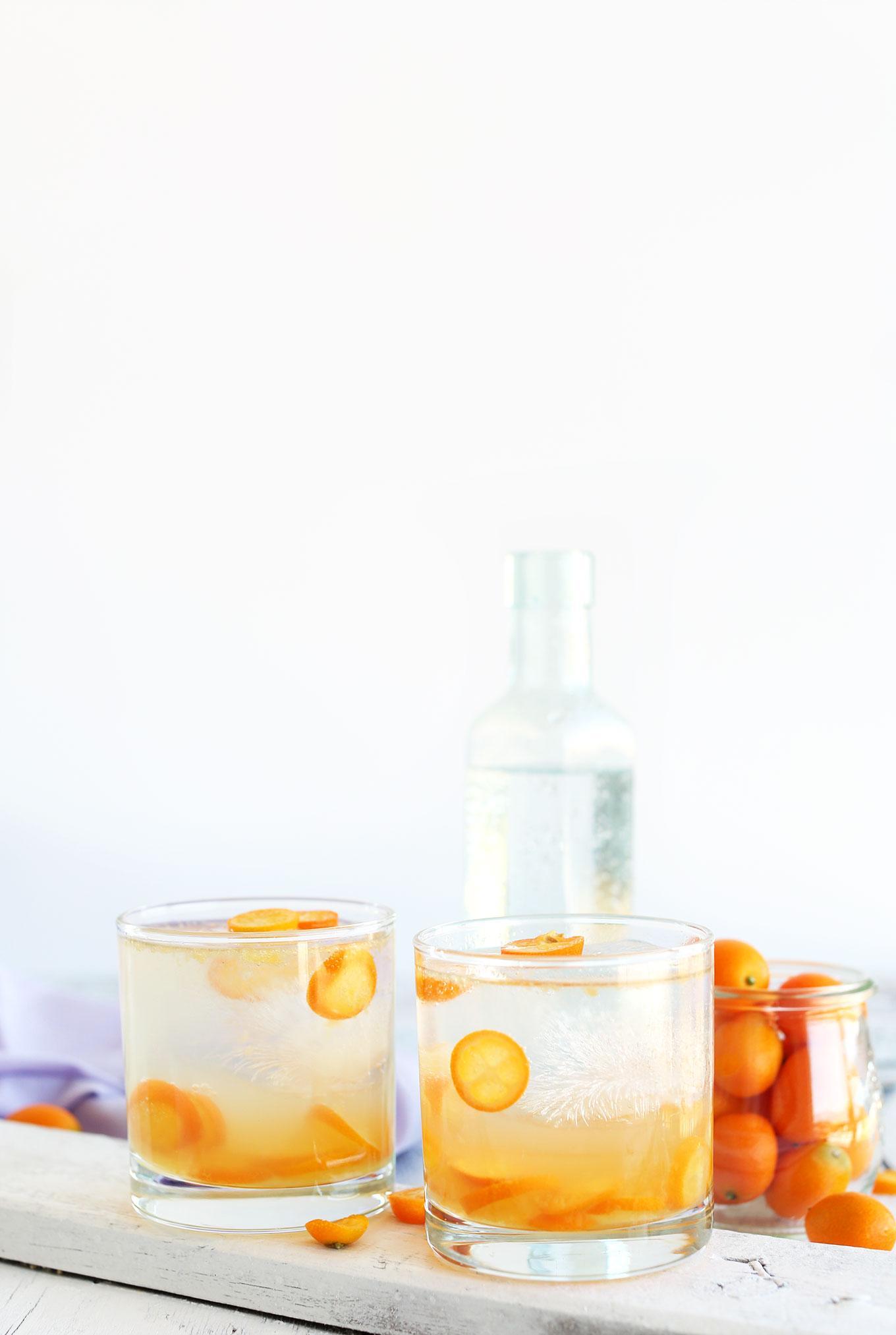 Натуральный джин с тоником с кумкватом фото 4