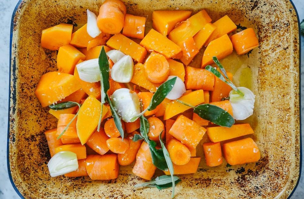 суп из тыквы с фетой и шалфеем 2