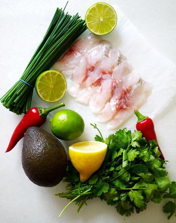 Севиче из морского окуня с авакадо фото 1