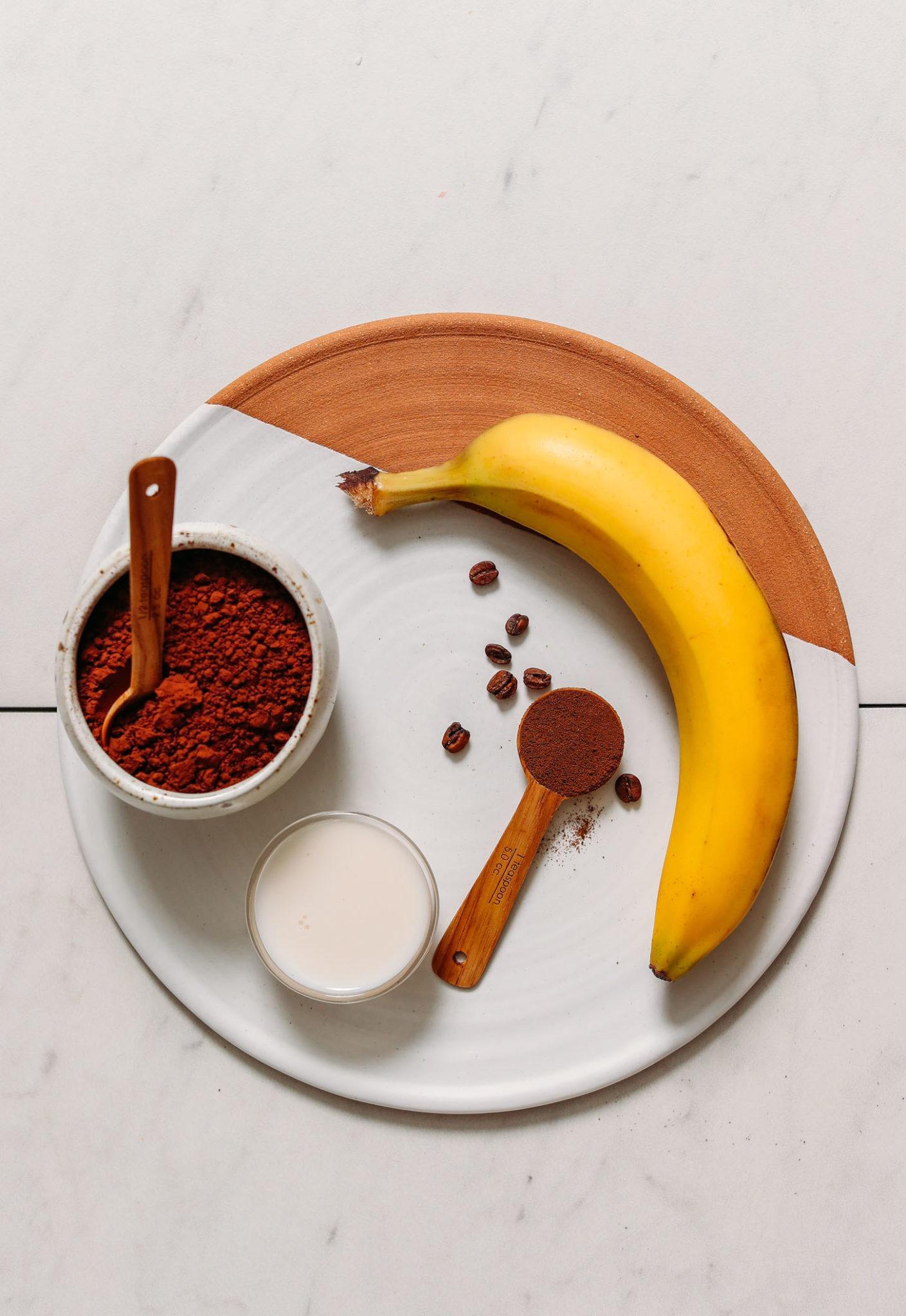 Шоколадно-банановый кремовый десерт 2