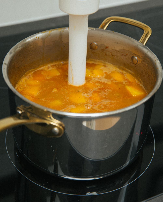 Тайский тыквенный суп фото 3