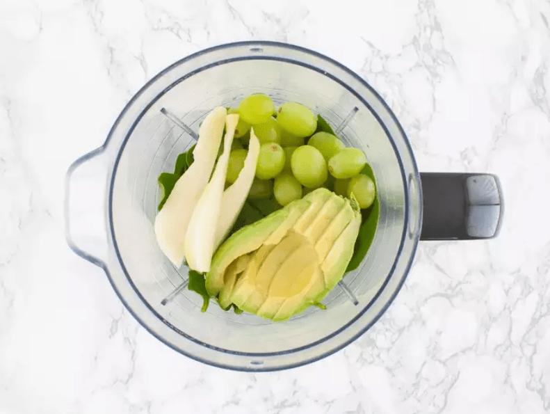 Веганский смузи для похудения с авокадо 1