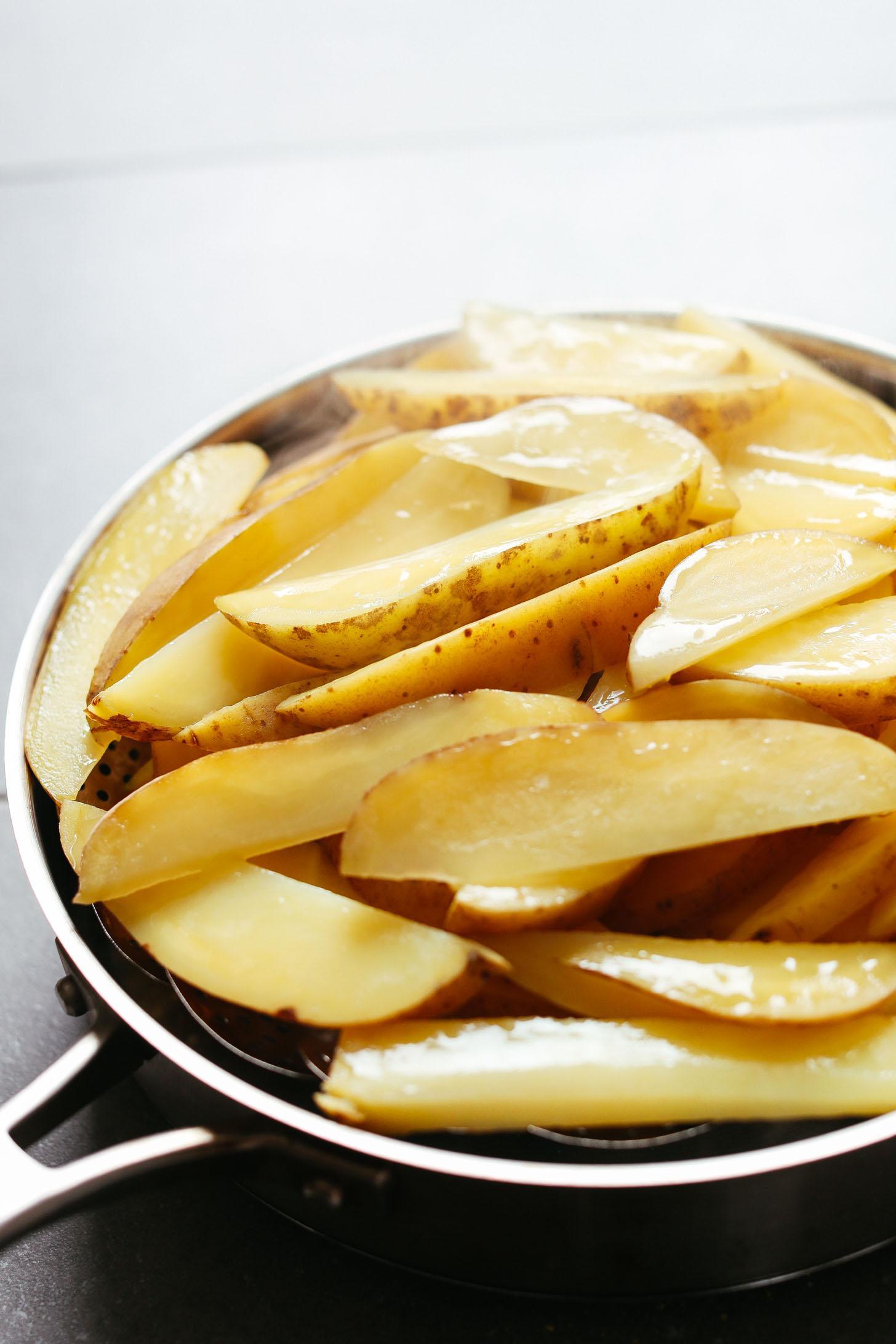 Запеченный картофель фри с сырным чили без масла фото 3