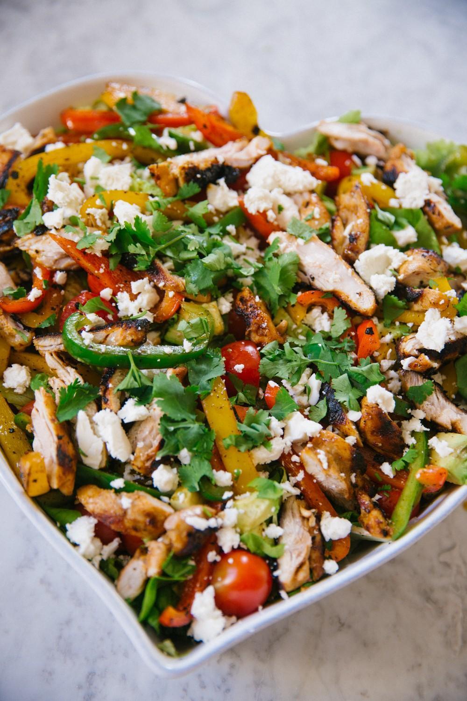 Куриный салат Фахита фото 6