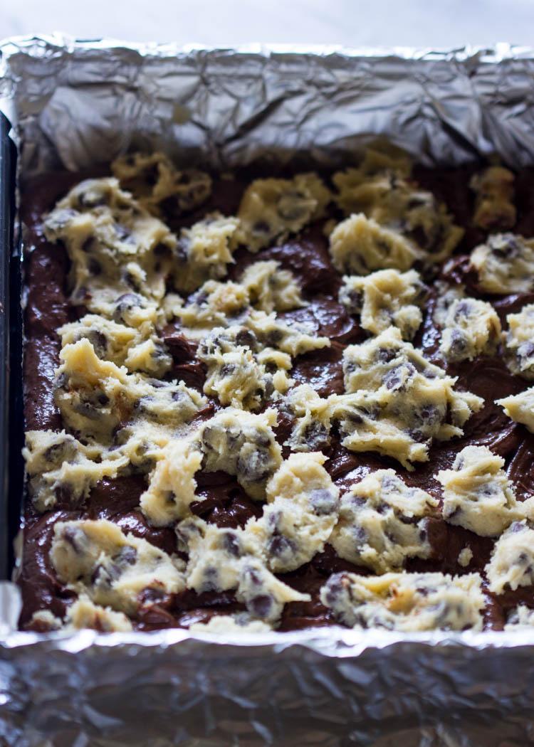 Брауни с шоколадным печеньем 3