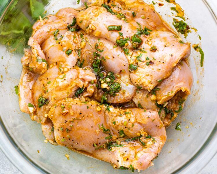 Куриный буррито с кориандром и лаймом 5