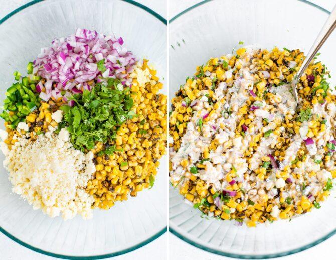 Мексиканский кукурузный салат 2