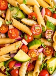 Салат из здоровой пасты