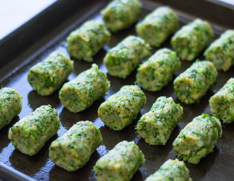 Запеченные палочки с брокколи и сыром 5