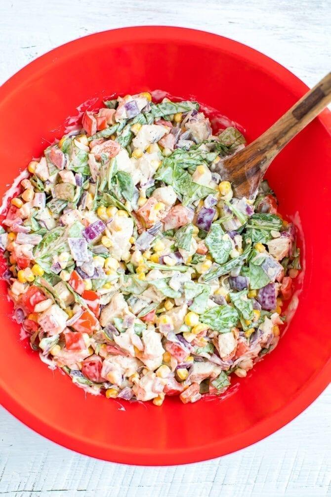 Куриная запеканка c овощами 4