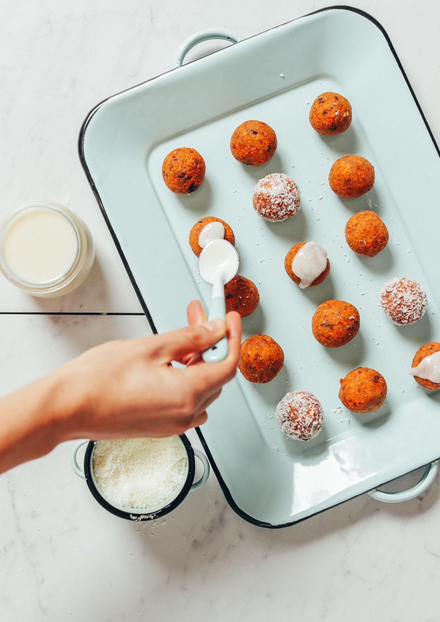 Морковные конфеты без выпечки 5