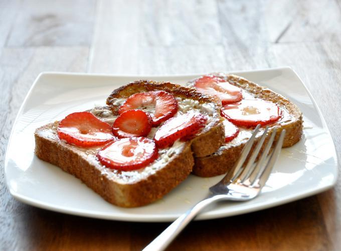Французский тост с клубникой 3