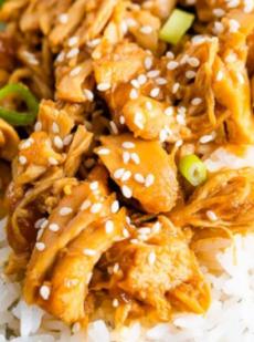 Курица терияки в медленном режиме готовки