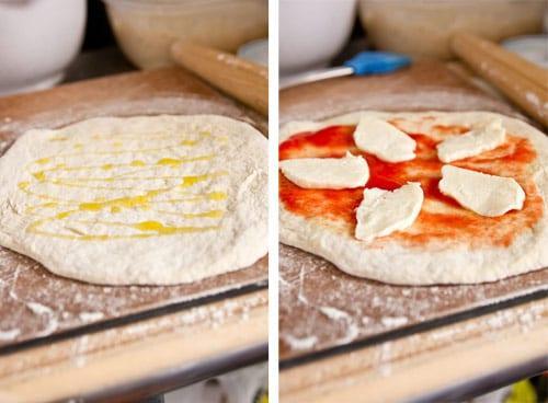 Пицца Маргарита 6