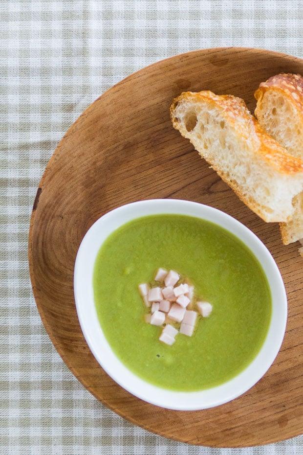 Крем-суп из колотого гороха 4