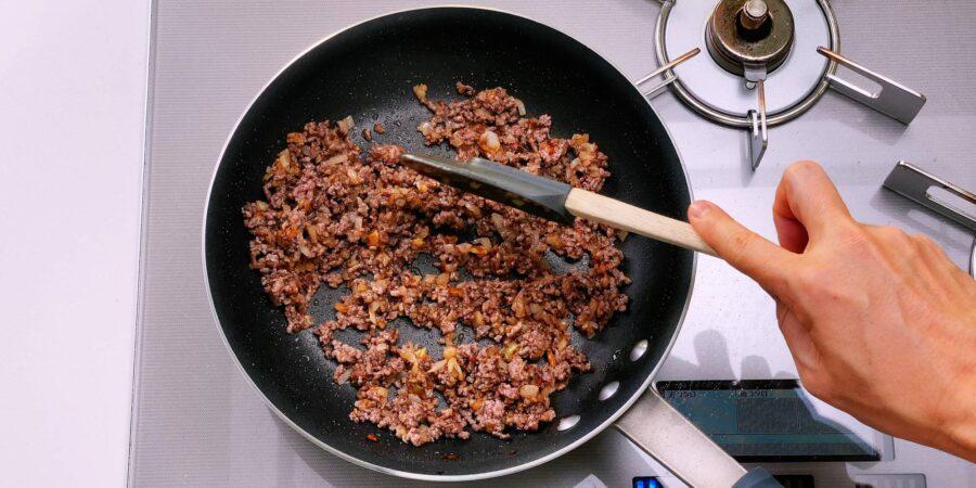 Жареный рис с приправой карри 4