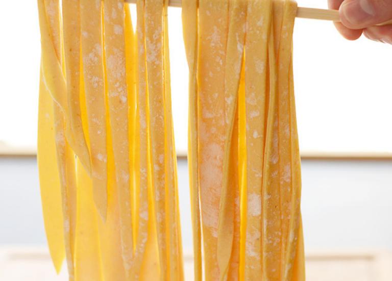 Домашняя паста из тыквы
