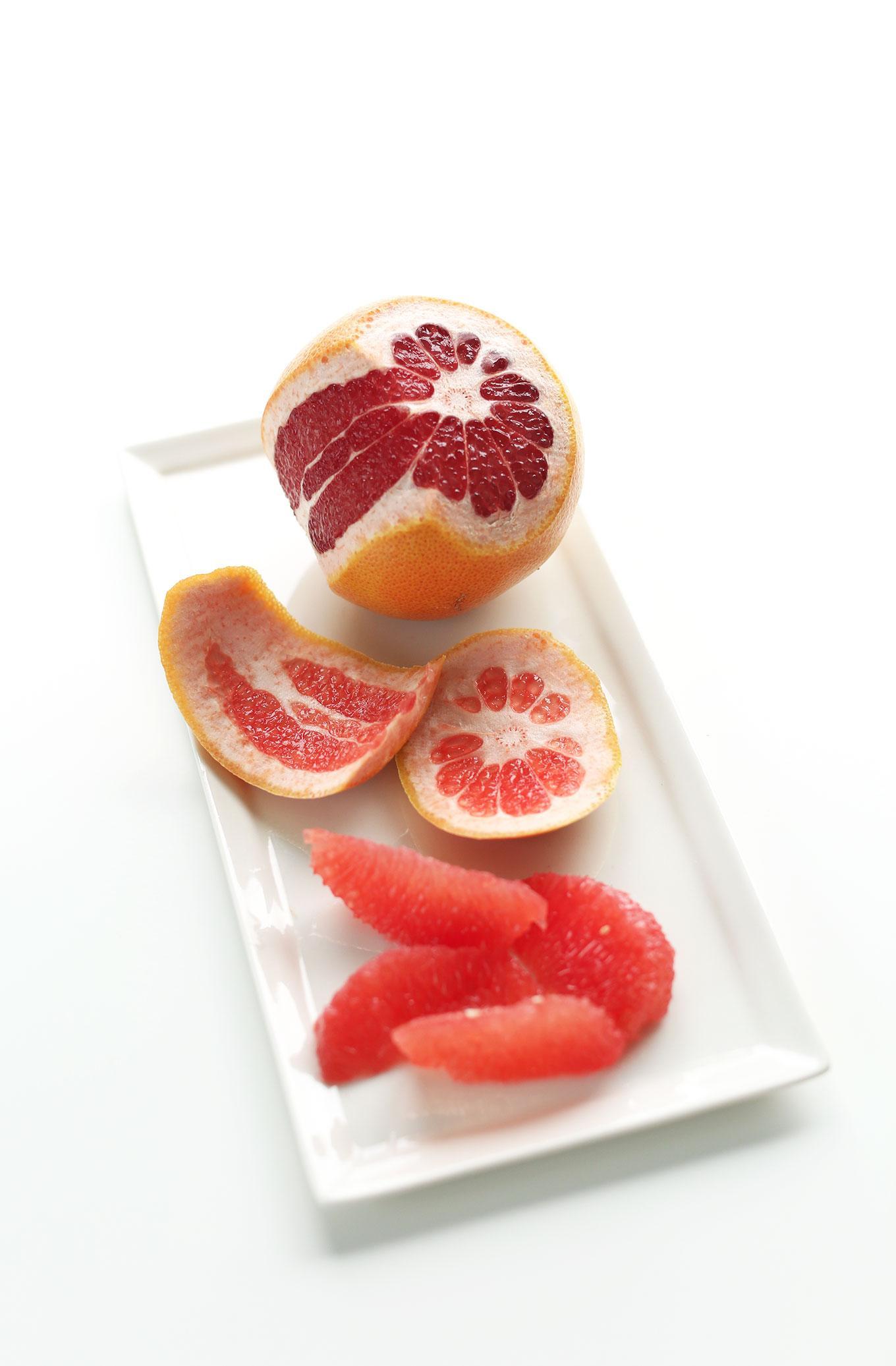 Грейпфрутовый зеленый смузи