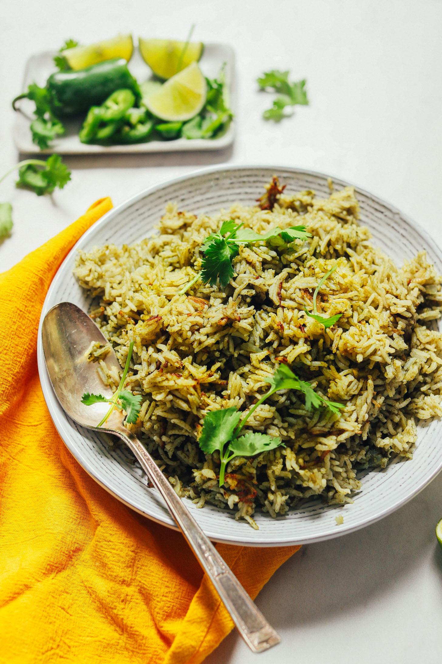 Рис с перцем и зеленью 7
