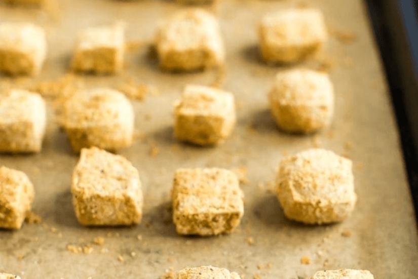 Запеченный тофу